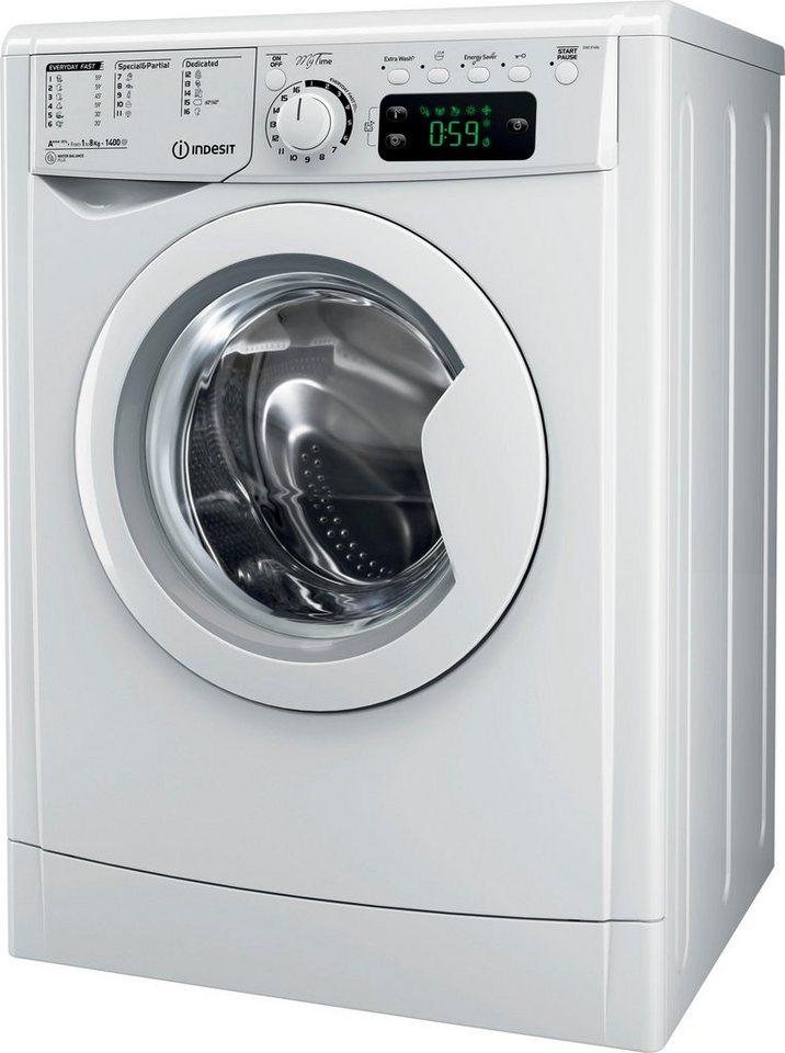 indesit waschmaschine ewe 81484 b eu 8 kg 1351 u min. Black Bedroom Furniture Sets. Home Design Ideas
