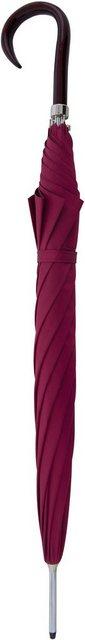 doppler MANUFAKTUR Stockregenschirm »Oxford Uni, pink«, handgemachter Manufaktur-Stockschirm | Accessoires > Regenschirme > Stockschirme | doppler MANUFAKTUR