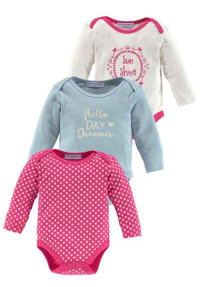 Neu Babyset Geschenkset 3tlg Erstausstattung Mädchen Rosa 68 Baumwolle Newborn