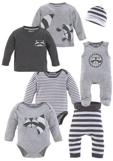 Klitzeklein Neugeborenen-Geschenkset (Set, 7-tlg) aus GOTS Bio-Baumwolle