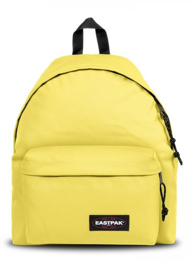 Eastpak Freizeitrucksack »PADDED PAK'R, Beachy Yellow«, enthält recyceltes Material (Global Recycled Standard)