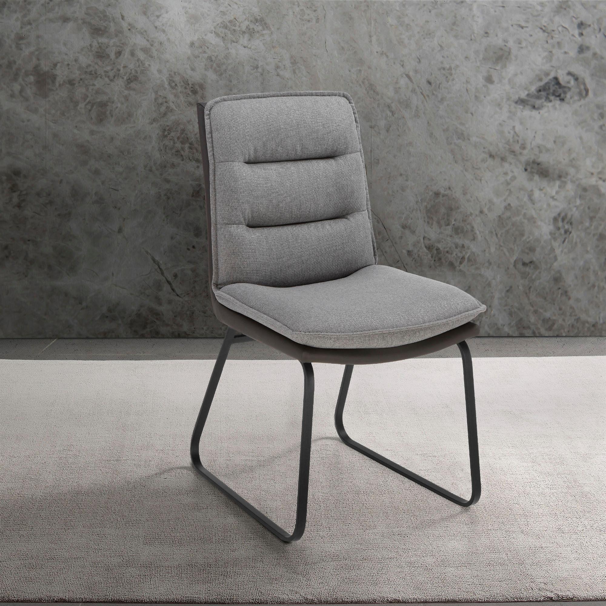 Places of Style Esszimmerstuhl »Ontario« 2er Set in modernem Design. Zwei Bezugsqualitäten, Sitz und Rücken gepolstert online kaufen | OTTO