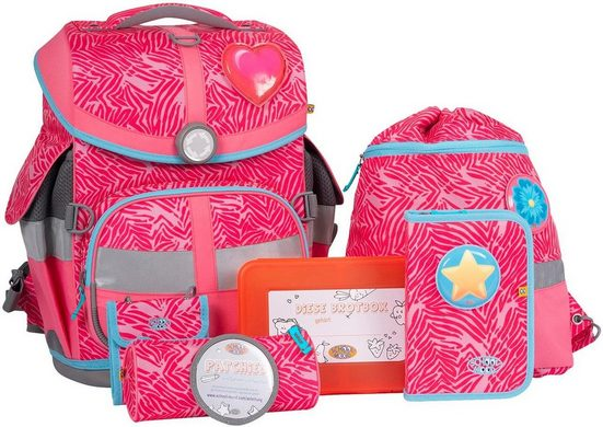 SCHOOL-MOOD® Schulranzen »Timeless Air, Camilla« (Set)
