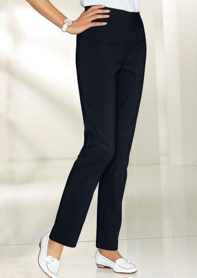 Classic Basics Hose in formstabiler Stretch-Qualität in schwarz
