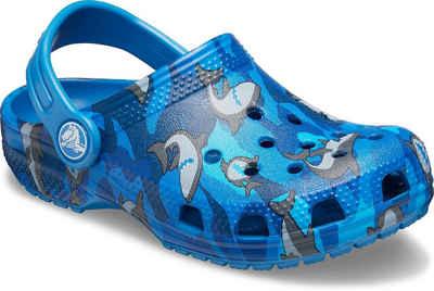 Crocs »Classic Shark Clog« Clog mit schwenkbarem Fersenriemen