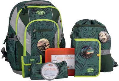 SCHOOL-MOOD® Schulranzen »Loop Air, Daniel« (Set), aus recyceltem Material