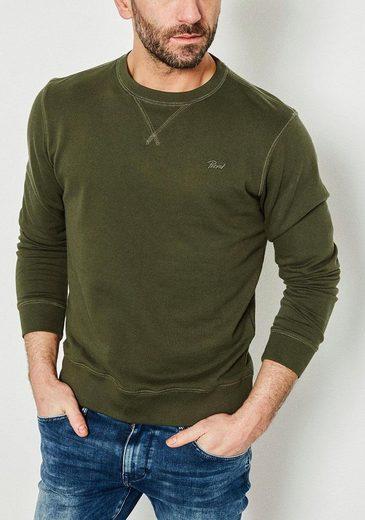 Petrol Industries Sweatshirt mit Logostickerei