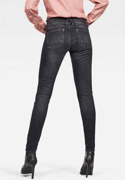 G Star RAW Skinny fit Jeans »Lynn Mid Waist Skinny« mit Elasthan Anteil