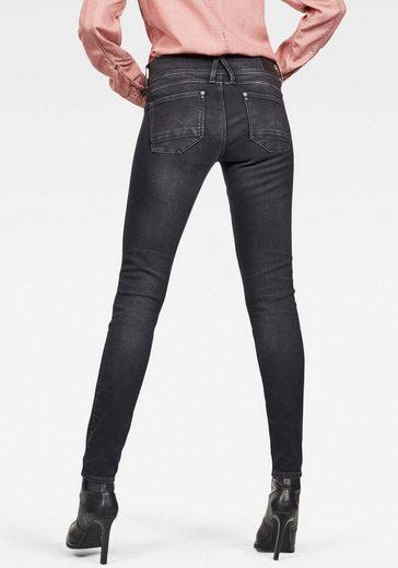 G-Star RAW Skinny-fit-Jeans »Lynn Mid Waist Skinny« mit Elasthan-Anteil