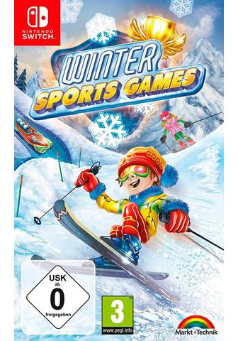 MARKT+TECHNIK WINTER SPORTS GAMES Nintendo Šakotuvas...
