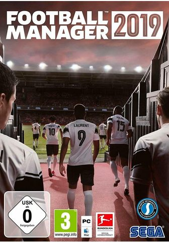 SEGA Futbolas MANAGER 2019 PC