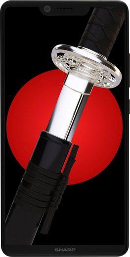 Sharp AQUOS D10 Smartphone (14,9 cm/5,99 Zoll, 64 GB Speicherplatz, 12 MP Kamera)