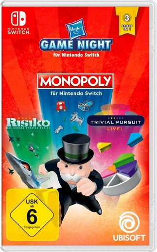 HASBRO GAME NIGHT Nintendo Switch, Software Pyramide