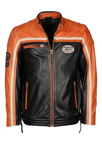 Куртка кожаная в Bikerstil »Gunn...