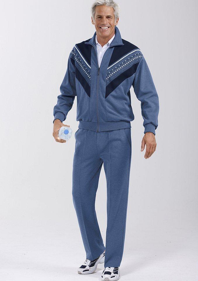 Dannecker Freizeitanzug mit Rundum-Dehnbund in jeansblau