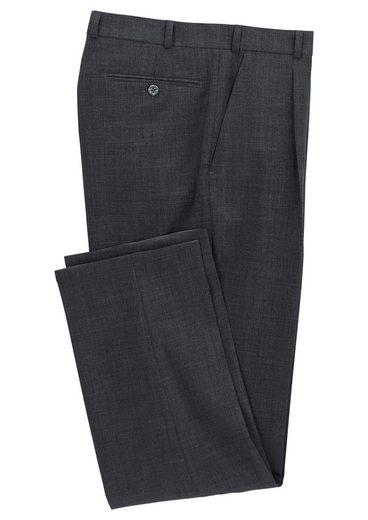 Classic Bundfalten-Hose mit elastischem Komfortbund
