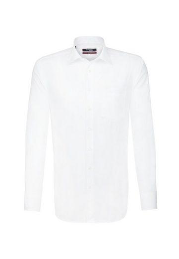 seidensticker Businesshemd »Regular« Regular Extra kurzer Arm Kentkragen Uni