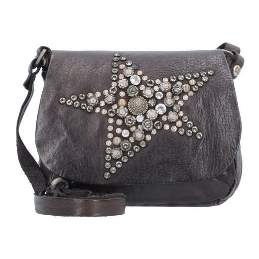 Campomaggi Mini Bag Umhängetasche Leder 19 cm