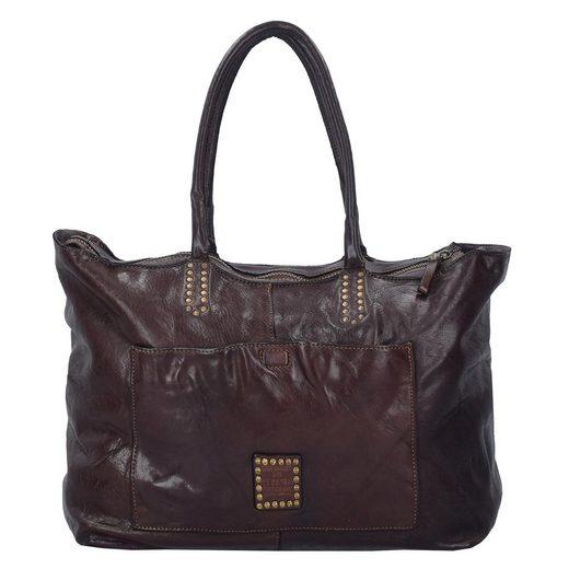 Campomaggi Grande Shopper Tasche Leder 37 cm