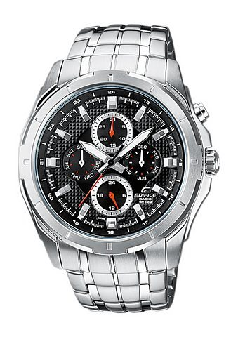 Casio Edifice Quarzuhr »EF-328D-1AVEF« in silberfarben