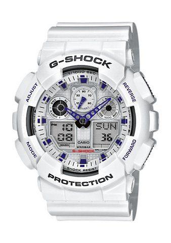 CASIO G-SHOCK Chronograph »GA-100A-7AER«