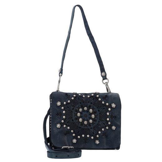 Campomaggi Traditional Serenoa Mini Bag Schultertasche Leder 18 cm