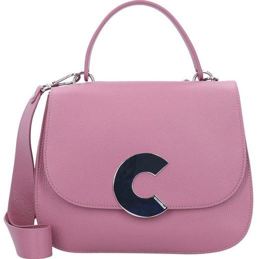 COCCINELLE Craquante Handtasche Leder 29 cm