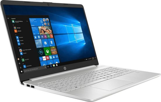 HP 15s-fq0212/214ng Notebook (39,6 cm/15,6 Zoll, Intel Pentium Gold, UHD Graphics 610, 512 GB SSD)