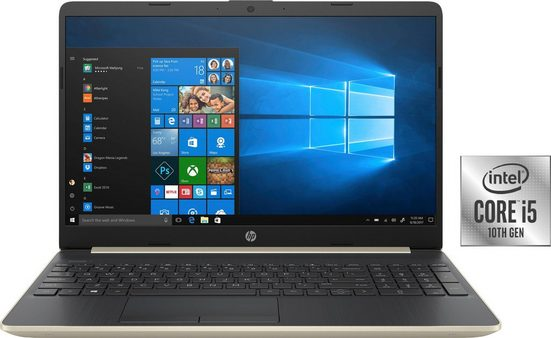 HP 15-dw1266ng Notebook (39,6 cm/15,6 Zoll, Intel Core i5, GeForce MX130, 1000 GB HDD, 256 GB SSD, inkl. Office-Anwendersoftware Microsoft 365 Single im Wert von 69 Euro)