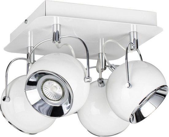 SPOT Light Deckenleuchte »BALL«, LED-Leuchtmittel Inklusive, LED wechselbar, mit dreh- und schwenkbarem Spot, Made in EU