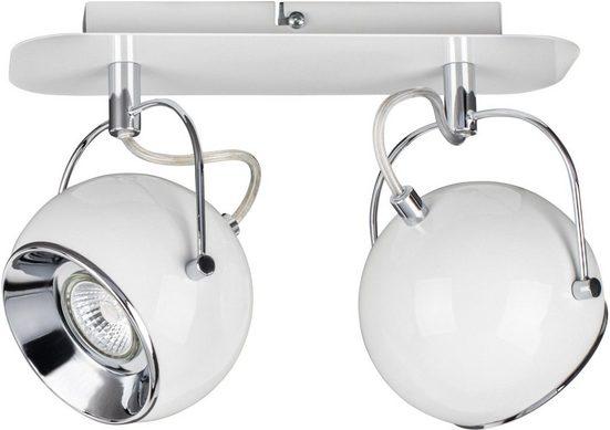SPOT Light Deckenleuchten »Ball Deckenleuchte Incl. 2xGU10 LED 5W«, 2-flammig, Metall
