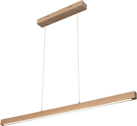 SPOT Light Pendelleuchte »SMAL«, Hängeleuchte, mit integriertem 24V-LED-Modul, mit Touch Dimmer, aus edlem Eichenholz, Naturprodukt FSC®-zertifiziert, Made in Europe