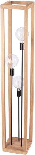 SPOT Light Stehlampe »Kago Stehleuchte 3xE27 60W«, 3-flammig, Einchenholz Massiv