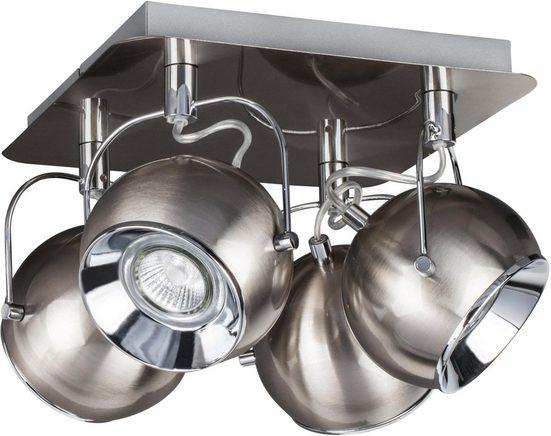 SPOT Light Deckenleuchte »BALL«, Inklusive LED-Leuchtmittel, Schwenkbare und flexible Spots, Made in EU