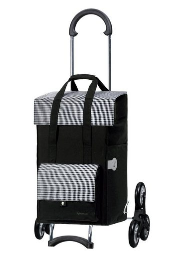 Andersen Einkaufstrolley »Scala Shopper® Milla, MADE IN GERMANY«, 49 l, Treppensteiger