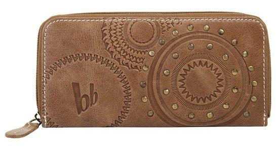 Bruno Banani Geldbörse (1-tlg), umlaufender Reißverschluss