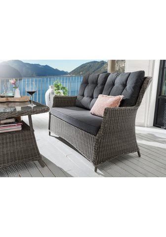 DESTINY Sodo sofa »Casa« 4 dalys Polyrattan gr...