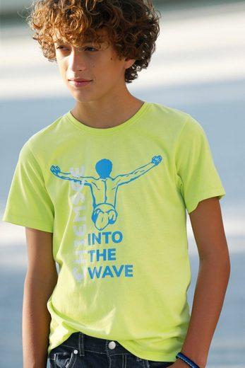 Chiemsee T-Shirt »mit Logodruck«
