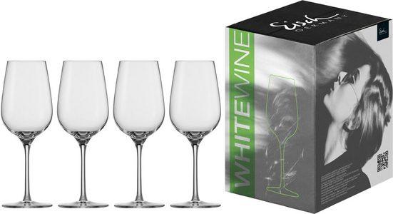 Eisch Weißweinglas »Vinezza« (4-tlg), bleifreies Kristallglas, 360 ml