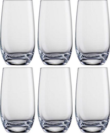 Eisch Longdrinkglas (6-tlg), bleifreies Kristallglas, 490 ml