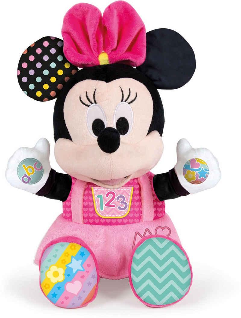 Clementoni® Kuscheltier »Baby Clementoni Disney Baby Minnie Kuscheln und Lernen«