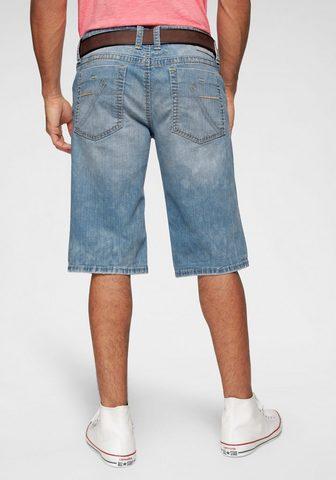 CAMP DAVID Шорты джинсовые