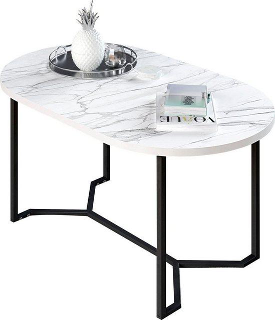 Wohnzimmertische - my home Couchtisch »Dinise«, ovale Form  - Onlineshop OTTO