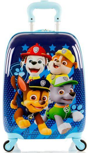 Heys Kinderkoffer »Paw Patrol, 46 cm, Blau«, 4 Rollen, mit 4 Rollen