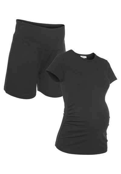 Neun Monate Umstands-Set »Powered by Flashlights« (Packung) Hose und Shirt