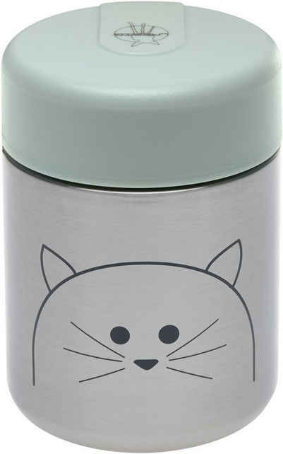 LÄSSIG Thermobehälter »Little Chums, Cat«, Silikon, (1-tlg)