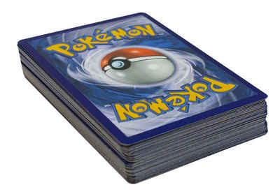 POKÉMON Sammelkarte »Pokémon Sammelkartenspiel - 50 Karten inkl. 1 Holo-Karte - deutsch - zufällig sortiert«