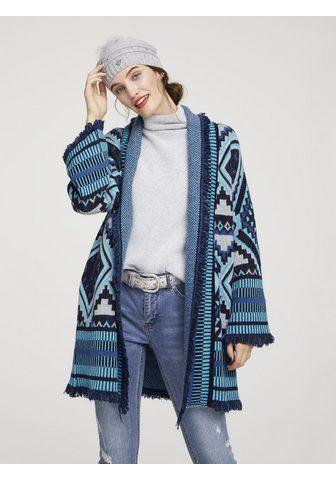 RICK CARDONA by Heine Ilgas megztinis su Fransen