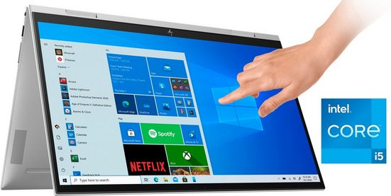 HP 15-es0057ng Notebook (39,6 cm/15,6 Zoll, Intel Core i5, Iris© Xe Graphics, 512 GB SSD, Kostenloses Upgrade auf Windows 11, sobald verfügbar)