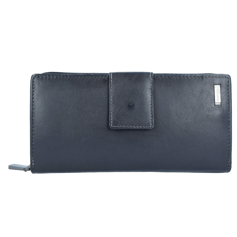 GreenLand Nature Black Nappa Geldbörse RFID Leder 20 cm online kaufen | OTTO